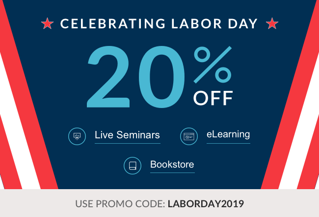 MED-ED   Labor Day Sale 2019 eLearning