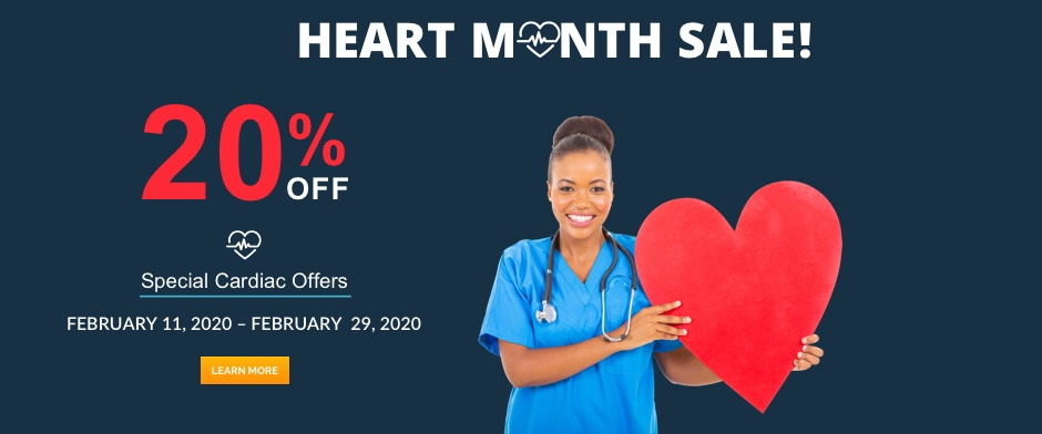 Heart Month Sale 2020